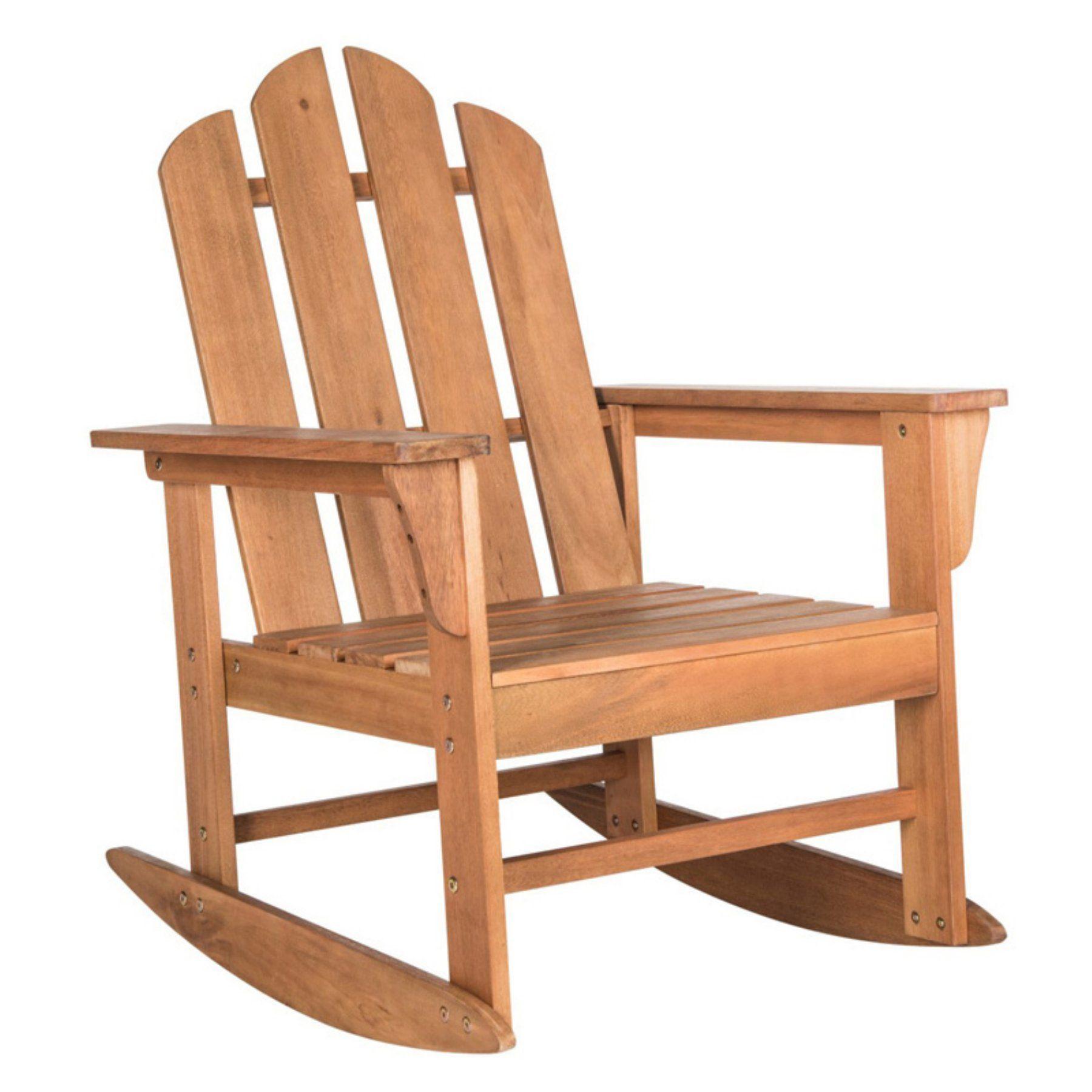 Safavieh Moreno Wood Outdoor Rocking Chair PAT7023C