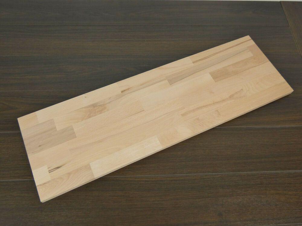 5 Leimholzplatten Buche 800x250x18mm Leimholz Massivholzplatte Holzbretter Brett Holzbrett Leimholz Bretter