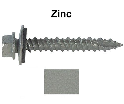 Metal Roofing Screws 250 Screws X 1 1 2 Sheet Metal Roofing Roofing Screws Corrugated Roofing