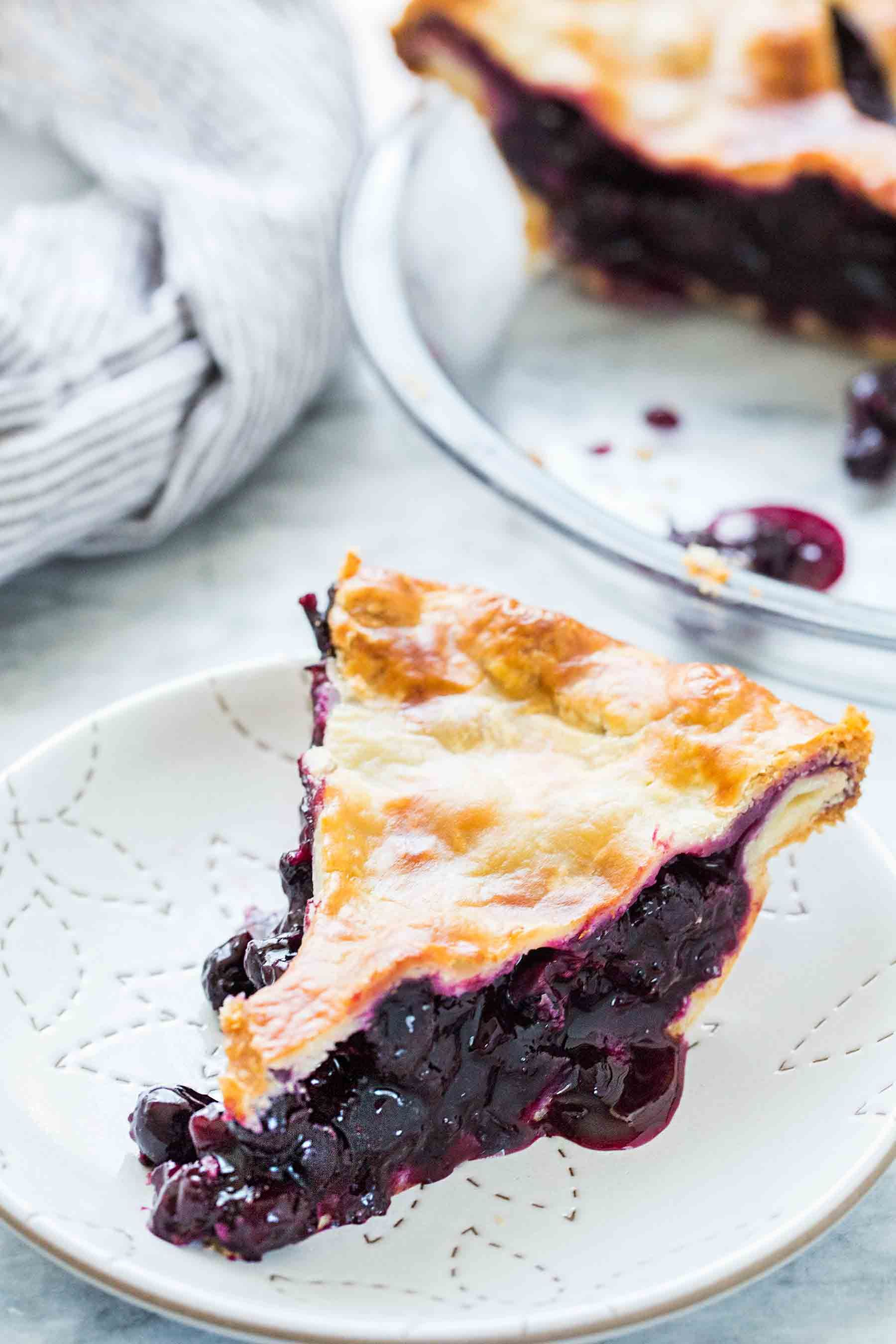 Pie with berries. Homemade Treats Recipe 26