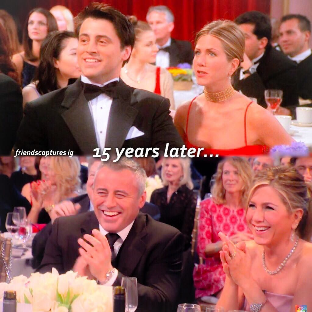 JOEY AND RACHEL  Double-tap & tag some friends  #friends #friendstvshow did you like them as a couple? by friendscaptures