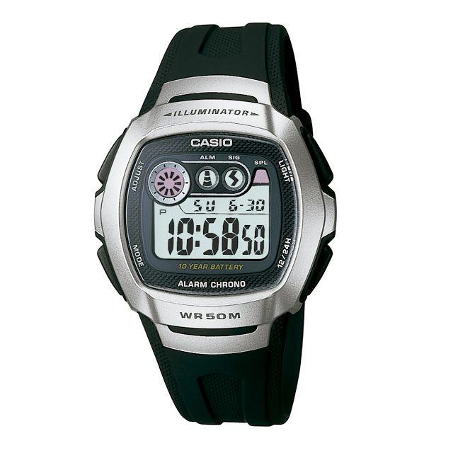 ffae9a80267 Relógio Casio Masculino Preto Digital W-210-1AVDF    R  9900 em 2 ...
