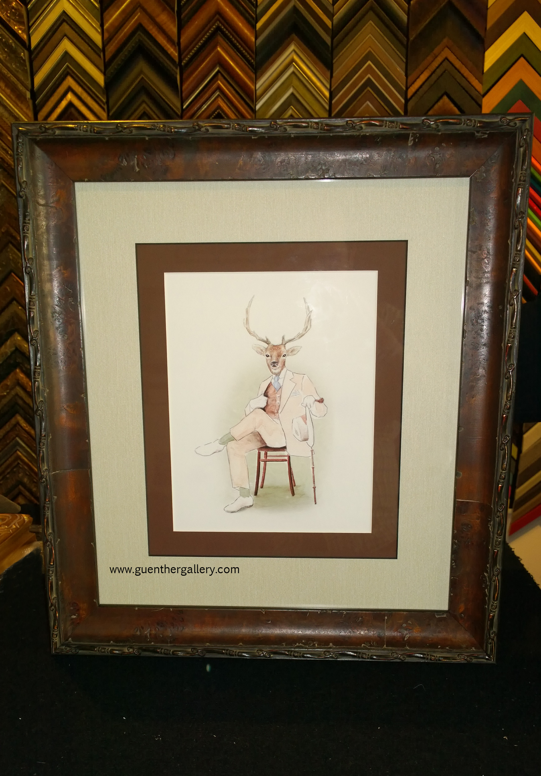 Rustic Picture Frames Png Yes Deer Rustic Frame On This Gentleman Elk