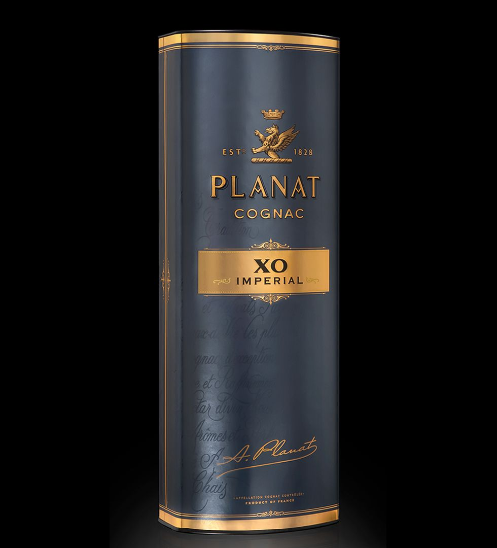 Cognac planat xo imperial designed by linea for Cognac planat