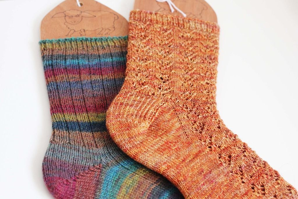 First Socks | Fibre Friday | Stranded Blog