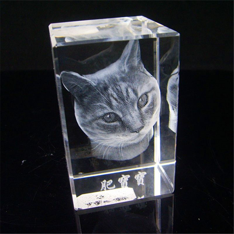 China Top Grade 3d Laser Engraving Crystal Cl 067