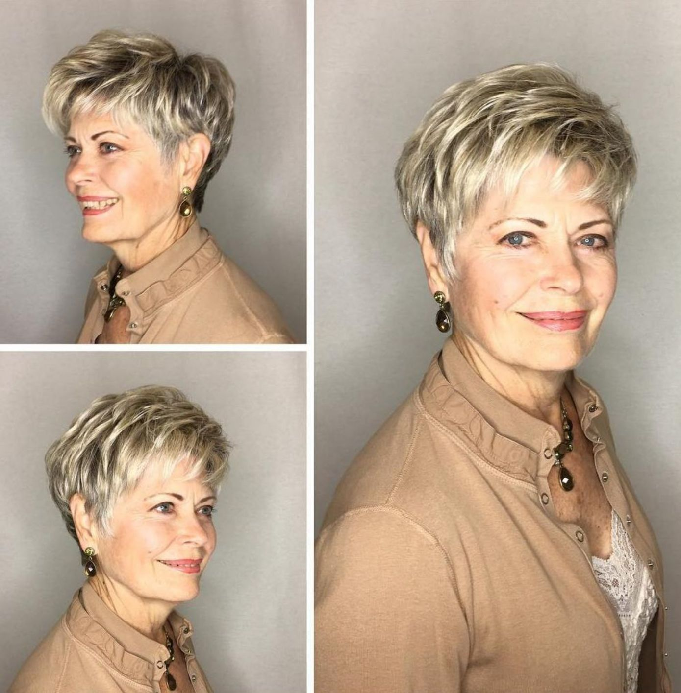 Ladies old have do short hair why Why Older