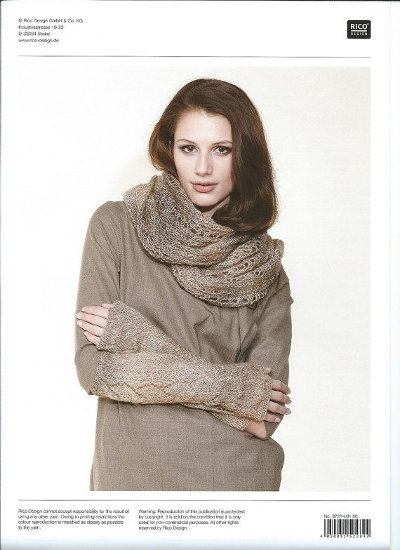 0f910758e834 Rico Design Creative Reflection Knitting Pattern 214 - Lacy Sweater ...