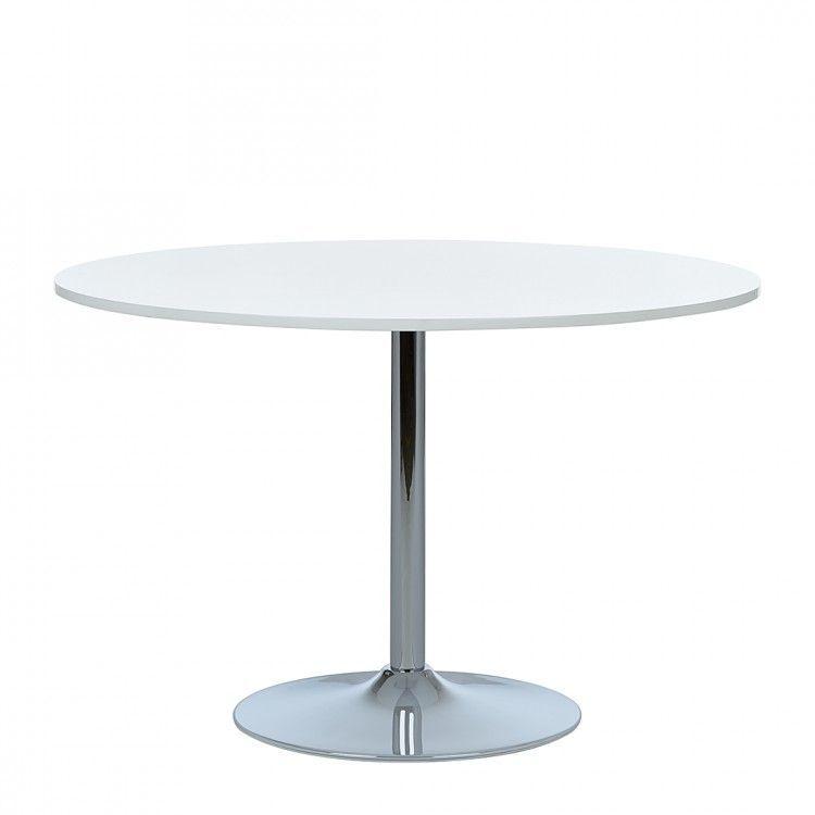 Esstisch Matilda - Hochglanz weiß, Fredriks Jetzt bestellen unter - runder küchentisch weiß