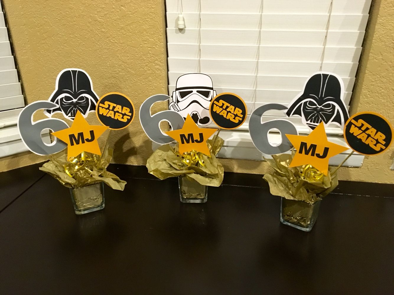 Star Wars Decorations Ideas Diy Starwars Birthday Centerpiece Diy Star Wars Party