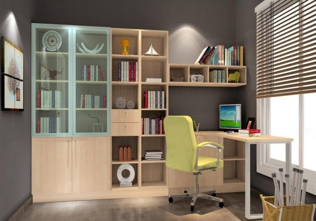 Modern study room interior design 2013 bedrooms - Modern study room ideas ...