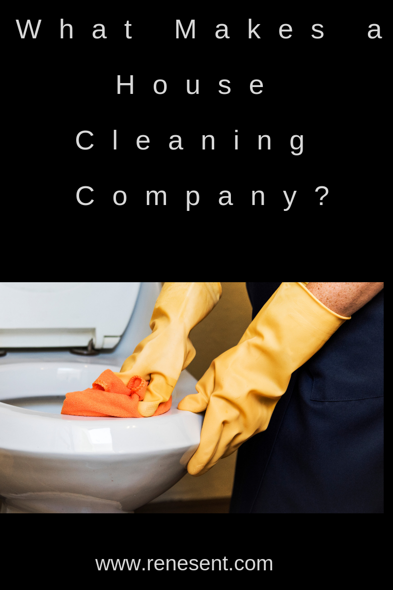 What Makes a House Cleaning Company? Renesent House