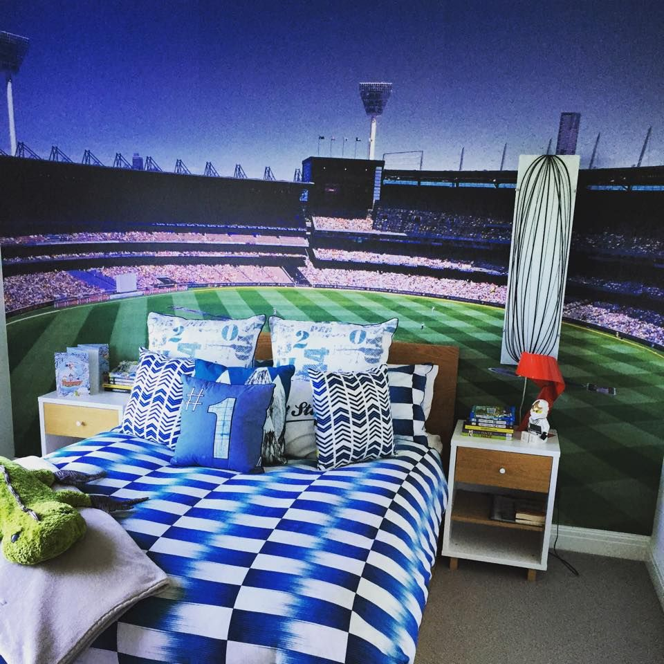 Ultimate Boys Bedroom - MCG Wallpaper | Home decor, Boy's ...