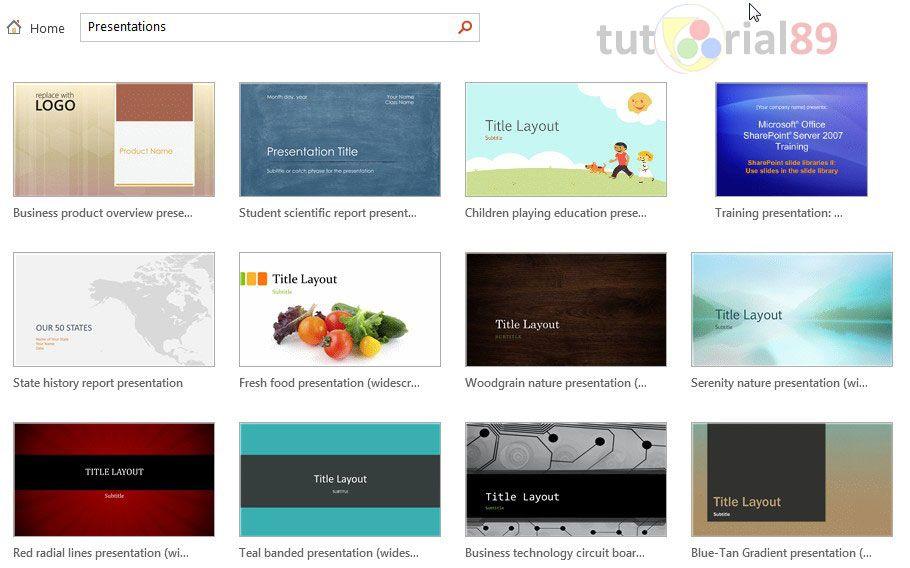 Koleksi 249 Template Presentasi Powerpoint Gratis Tutorial