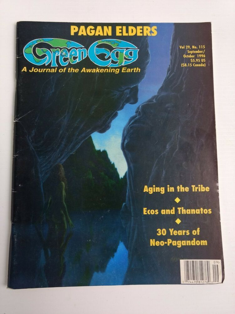 Green Egg Magazine 1996 vol 29 Pagan Elders Aging in Tribe