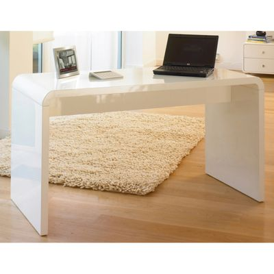 Click To Zoom Hudson Desk White