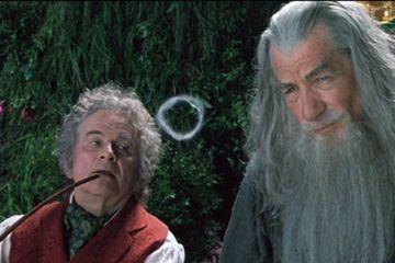 Blazing With Bilbo And Gandalf Smoke Circles Oooooooooo Lord Of