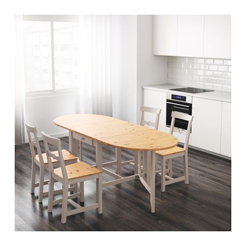 GAMLEBY Gateleg Table IKEA Itu0027s Quick And Easy To Change The Size Of The  Table To