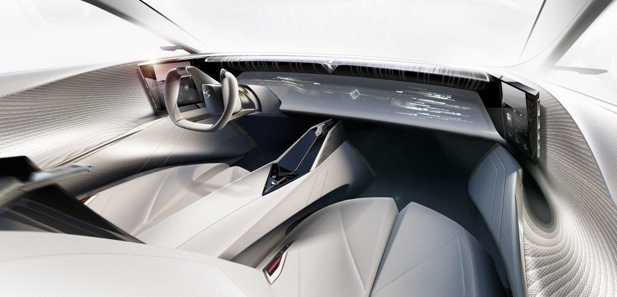 DS Aero Sport Lounge concept debuts ultrasonic, haptic 3D