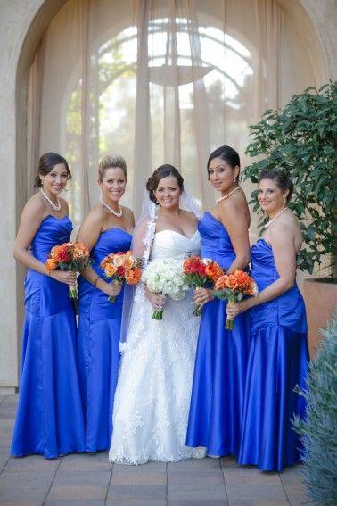A Cobalt Blue Spanish Inspired Wedding | Cobalt blue, Cobalt and ...