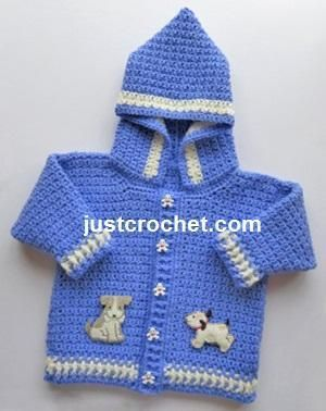 276ba2b25f9c FJC62-Hooded Jacket Baby crochet pattern