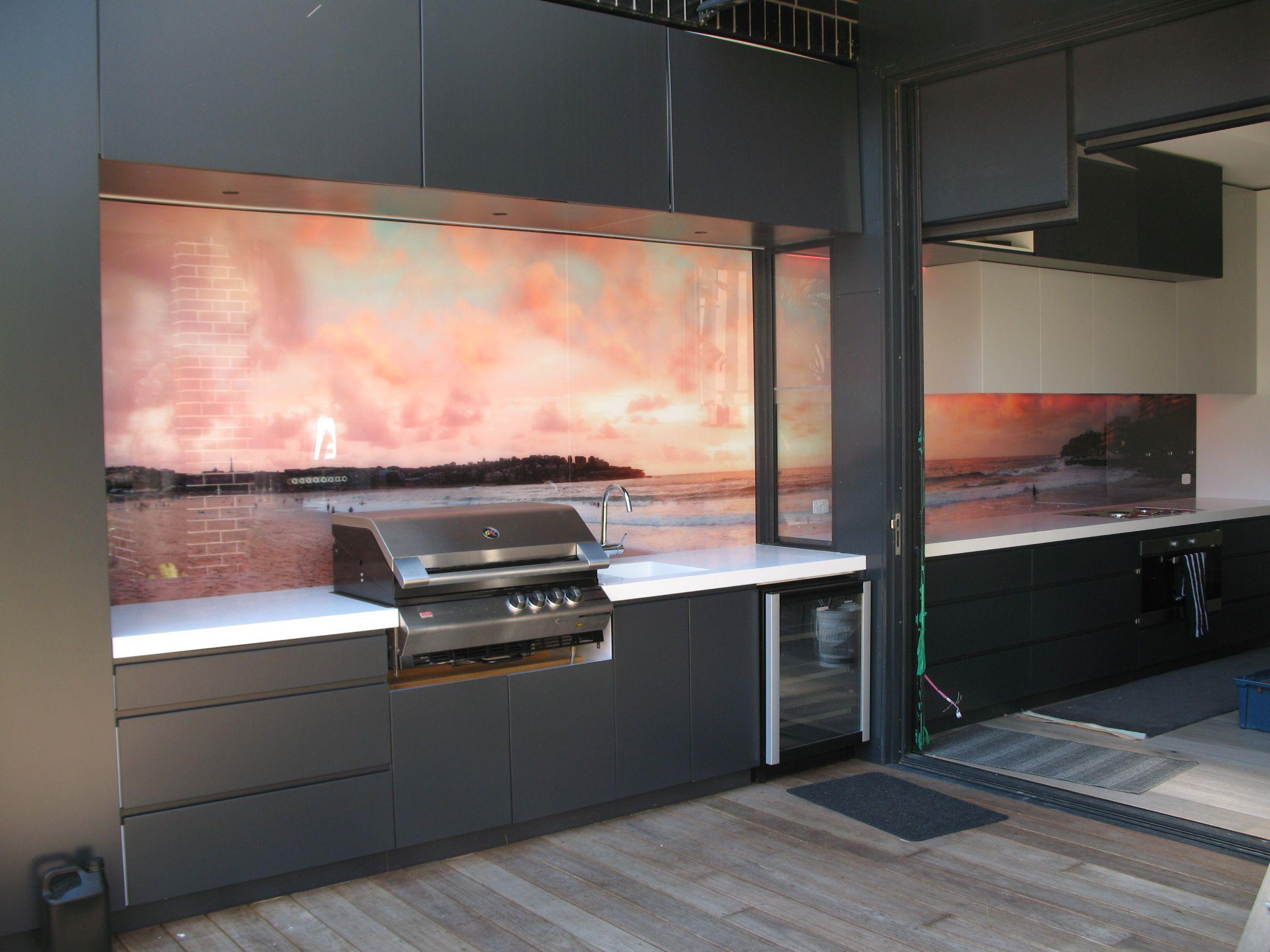 Impression Series Project Decoglaze Kitchen Renovation Inspiration Glass Splashback Gazebo On Deck