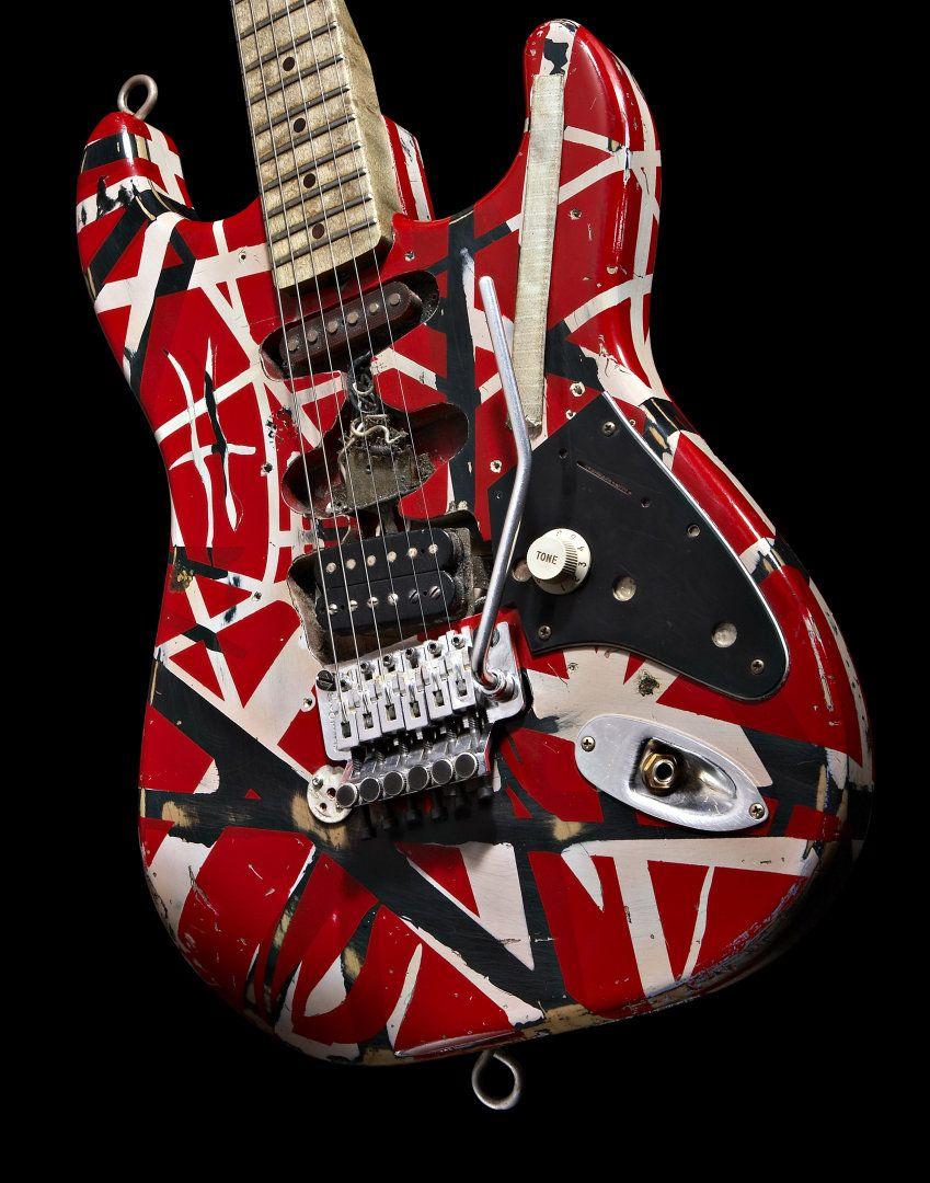 Pin By Mark Krug On Guitars Electric Van Halen Vans Eddie Van Halen
