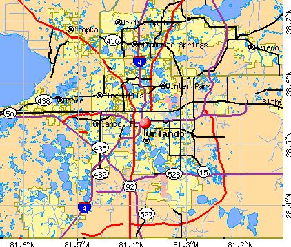 Orlando Florida Map Orlando Florida Map Florida Pinterest