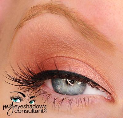 Makeup Geek Eyeshadow look Shimma Shimma (Inner half of