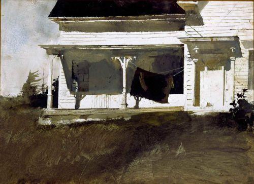 Army Blanket by Andrew Wyeth