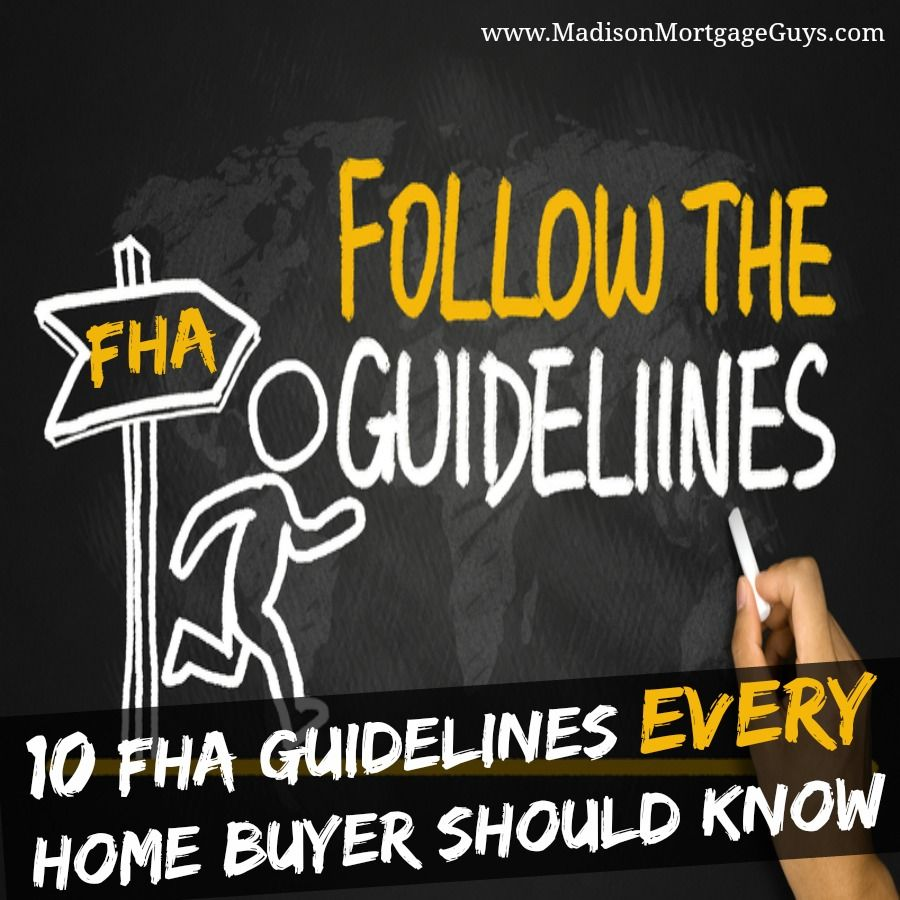 FHA guidelines prospective buyers need to keep these in mind when shopping for their home. FHA approved lenders are able to offer mortgages with enticing rates for people that might not qualify for a Fannie Mae or Freddie Mac home loan.
