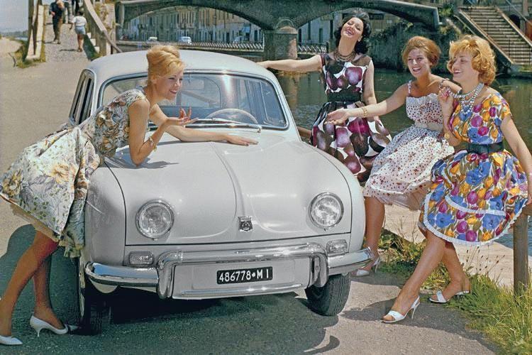 Myretrovintage Renault Dauphine  1956