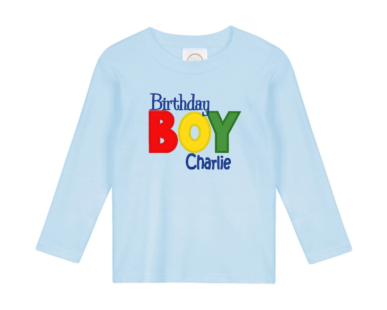 Personalized Birthday Boy Shirt Short Or Long Sleeve 0 3m 18m From Haute Tot Boutique
