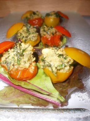 Recette - Tomates cerises à la Provençale   750g   Recette ...