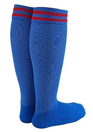 Lian LifeStyle Boys 1 Pair Knee High Sports Socks for Baseball//Soccer