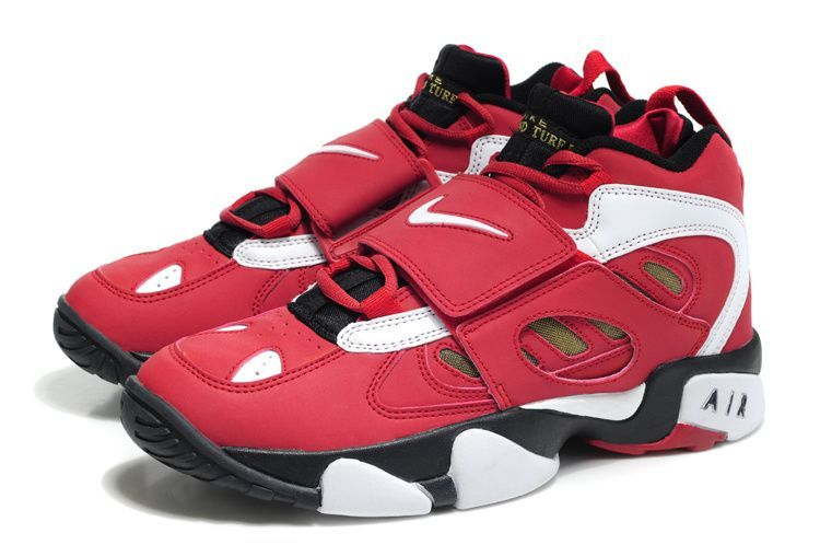 Nike Air Diamond Turf 2 (II) Basketball Shoes Varsity Red/White .