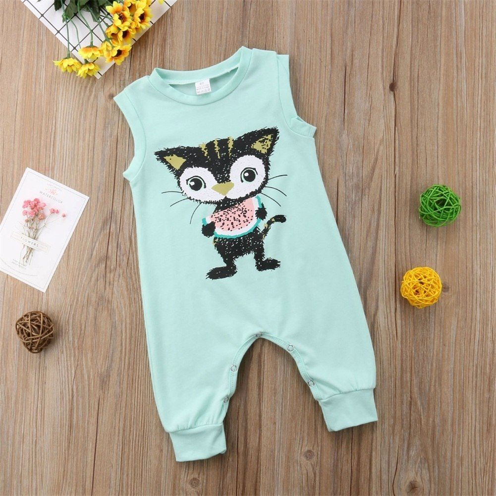 Us 3 06 41 Off Newborn Baby Clothes Backless Striped Ruffle Romper Overalls Jumpsuit Clothes Baby Girl Clothes Baby Girl Romper Kid Clothes In Rompers From Mo Baby Outfits Newborn Baby Clothes Girl Outfits