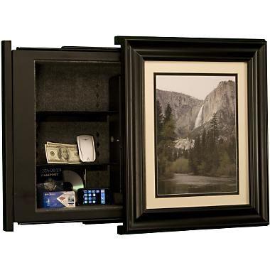 Painting hidden safe cool design pinterest hidden for Cool hidden compartments