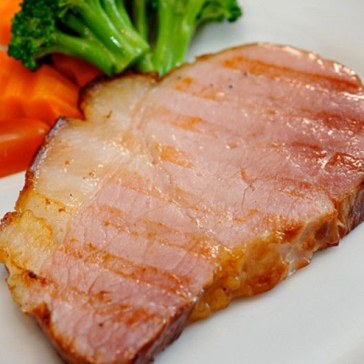 how to cook gammon steaks so they are tender