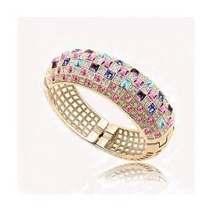 Luxury crystal queen bracelet