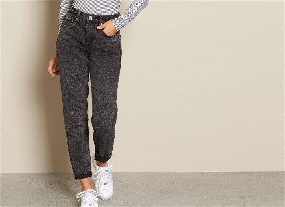 Essential Black Mom Jean
