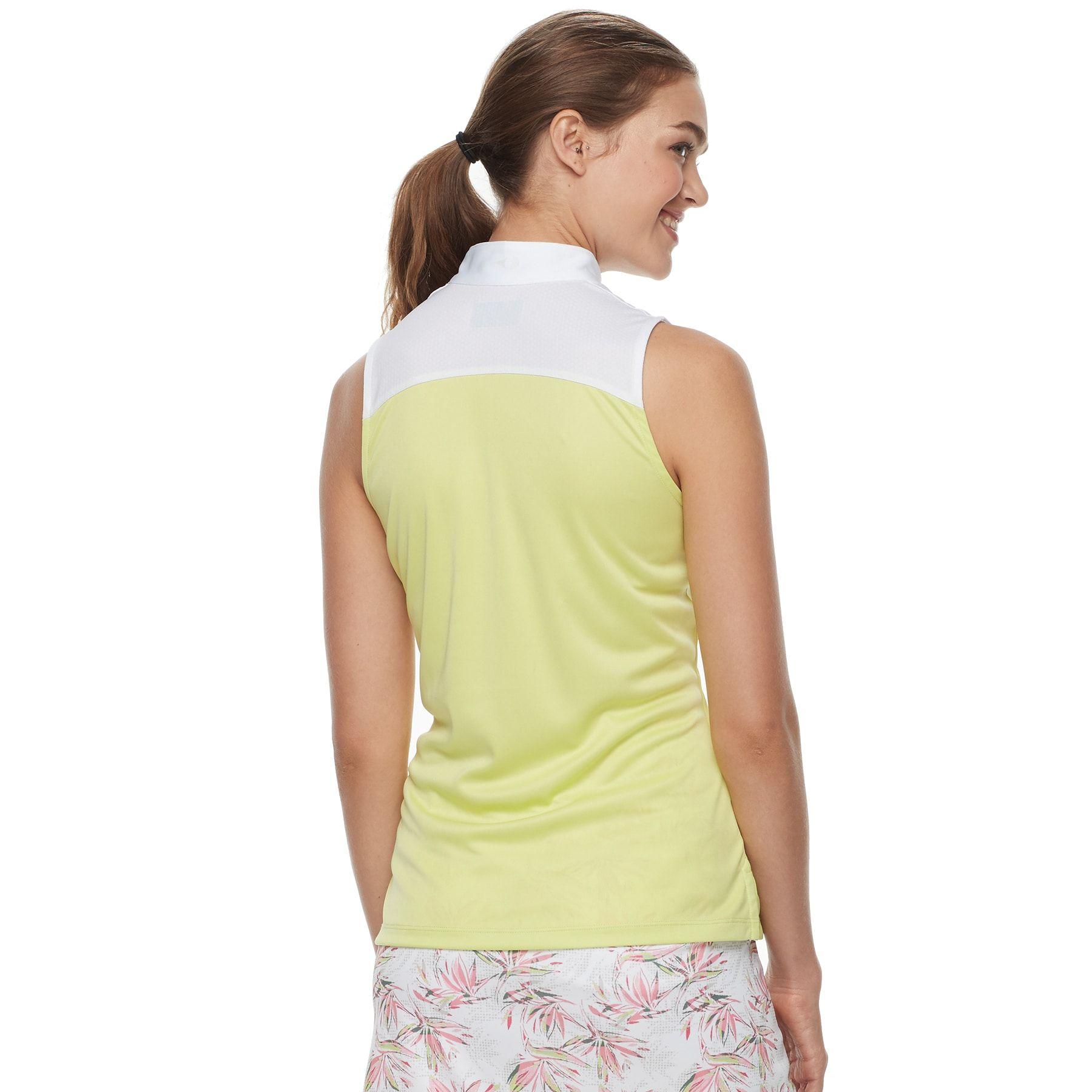 483a6327431f7 Women u0027s Grand Slam Color Block Sleeveless Golf Top