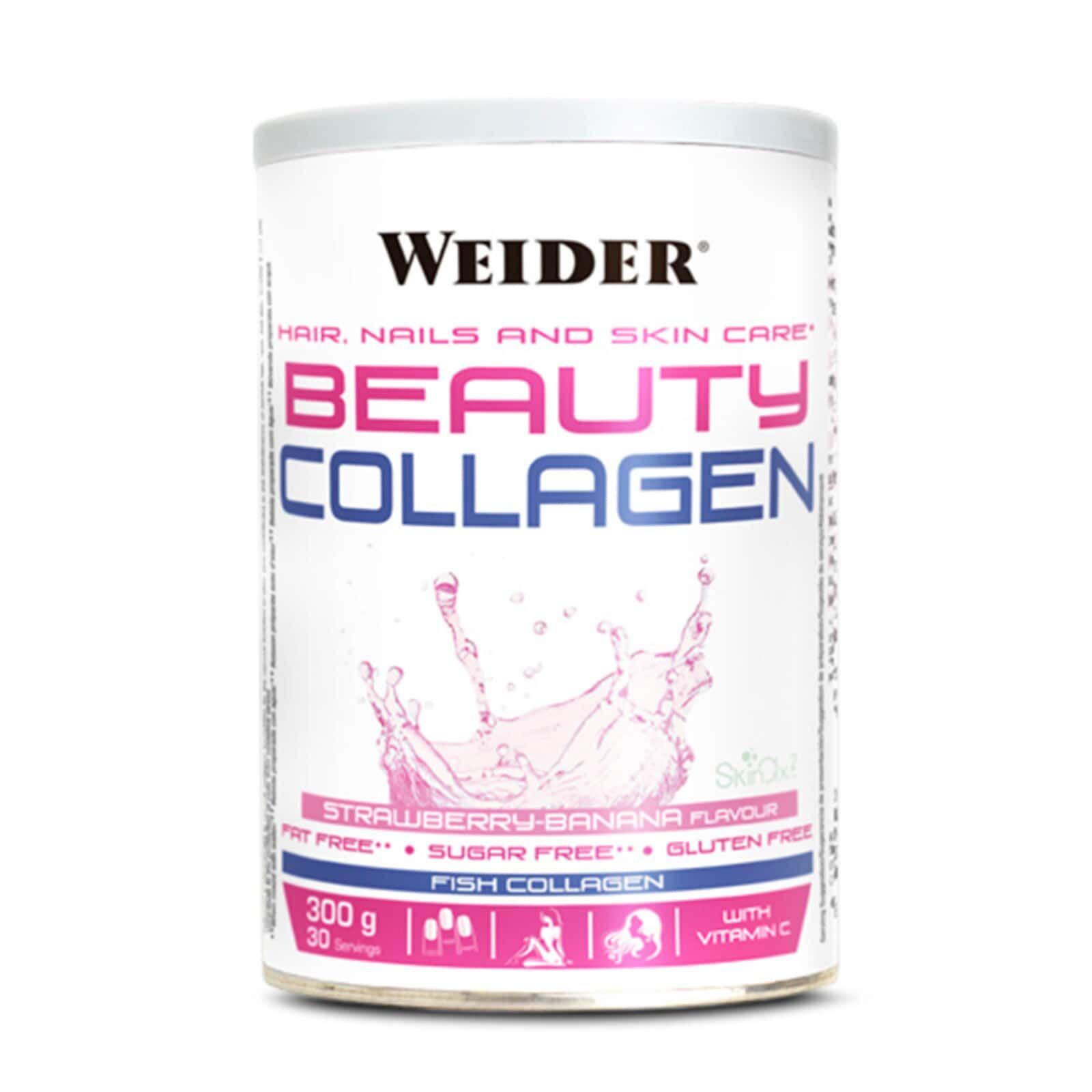 Beauty Collagen Weider Cuidado Das Unhas Pele E Cabelo