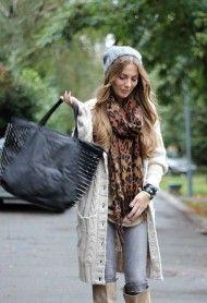 Collide %E2%80%A6   , Zara in Boots, Zara in Jeans, H in Scarves / Echarpes, New Yorker in Cardigans, Bershka in Bags, Primark in Hats