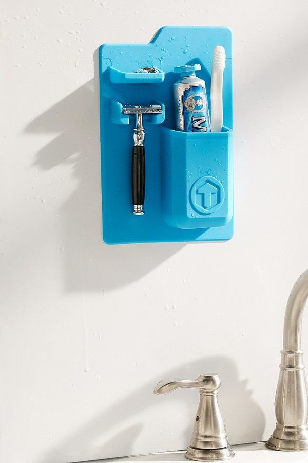 Tooletries Mighty Toothbrush + Razor Holder common board with - resume holder