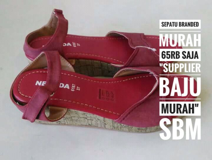 Kami menjual juga sepatu dan sandal branded dari merk ternama ori dari  Matahari seperti nevada edacb9b5c5