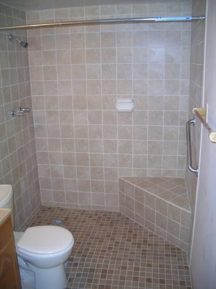 handicap accessible bathroom shower seat needs raised a little higher tho. Interior Design Ideas. Home Design Ideas