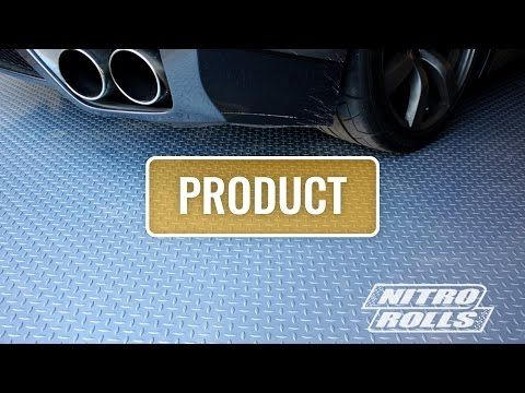 Diamond Pattern Nitro Rolls Offer The Best Value Roll Out Vinyl Garage Floor Covering On The Market R Vinyl Garage Flooring Garage Floor Tiles Garage Makeover