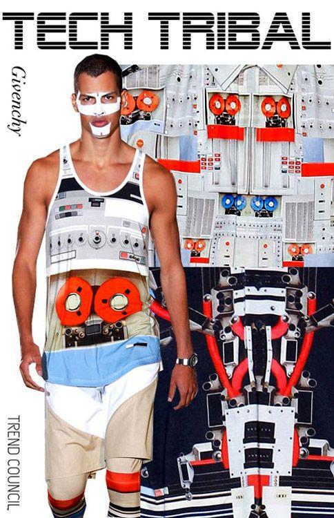 Inspirational Men's pattern for Spring-Summer 2014