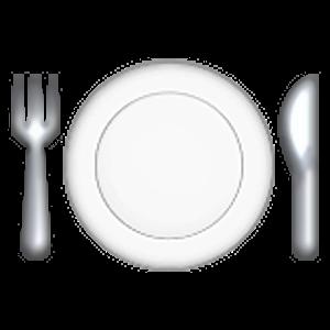 fork and knife with plate | Lustige bilder, Bilder